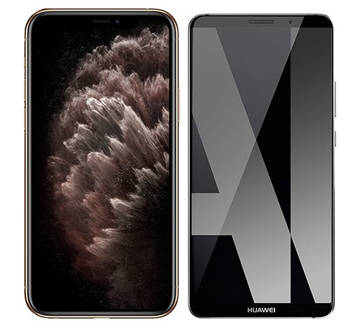 Smartphonevergleich: Iphone 11 pro max oder Huawei mate 10 pro
