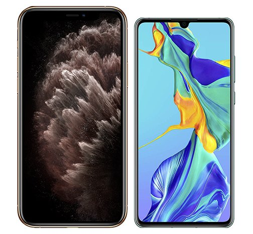 Smartphonevergleich: Iphone 11 pro max oder Huawei p30