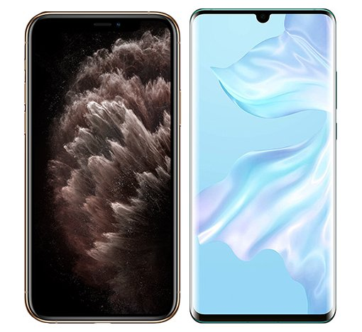 Smartphonevergleich: Iphone 11 pro max oder Huawei p30 pro