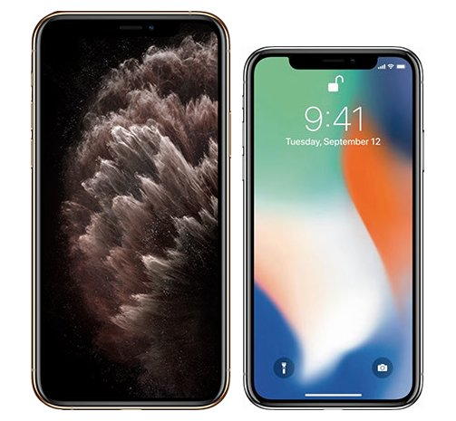 Smartphonevergleich: Iphone 11 pro max oder Iphone x