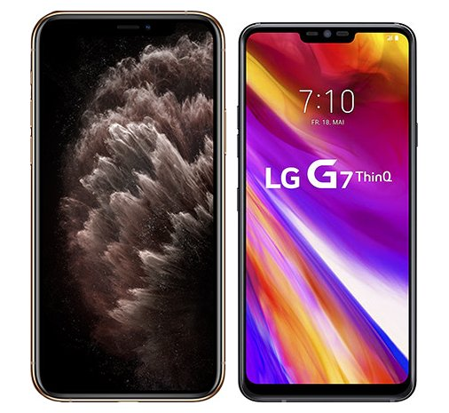 Smartphonevergleich: Iphone 11 pro max oder Lg g7 thinq