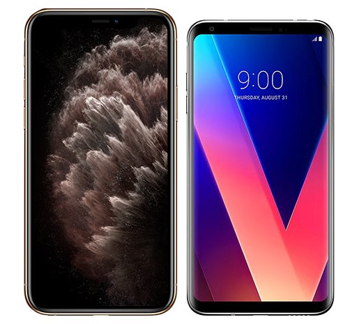 Smartphonevergleich: Iphone 11 pro max oder Lg v30
