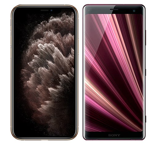 Smartphonevergleich: Iphone 11 pro max oder Sony xperia xz3