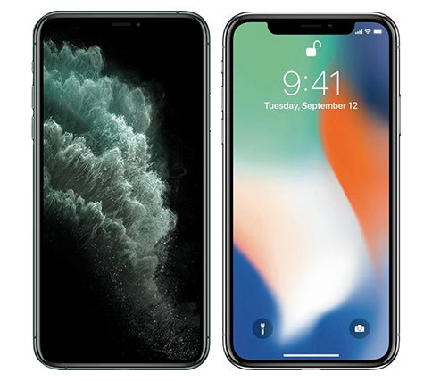 Smartphonevergleich: Iphone 11 pro oder Iphone x