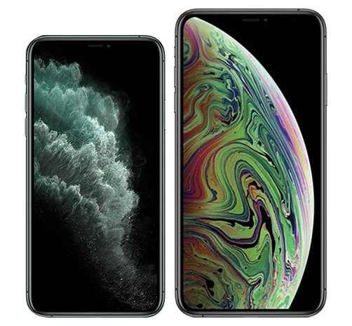 Smartphonevergleich: Iphone 11 pro oder Iphone xs max