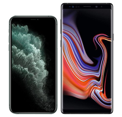 Smartphonevergleich: Iphone 11 pro oder Samsung galaxy note 9