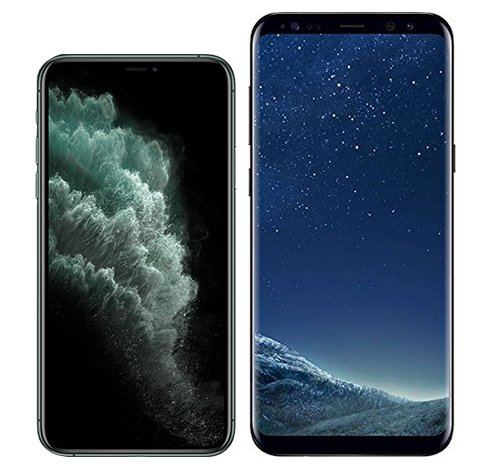 Smartphonevergleich: Iphone 11 pro oder Samsung galaxy s8 plus