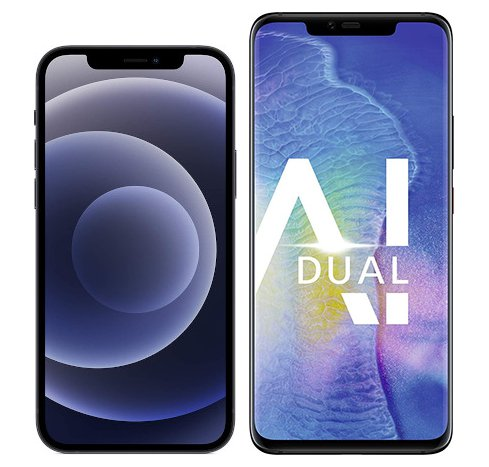 Smartphonevergleich: Iphone 12 oder Huawei mate 20 pro