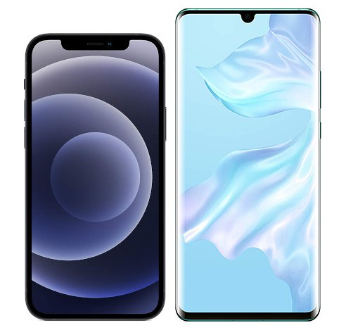 Smartphonevergleich: Iphone 12 oder Huawei p30 pro