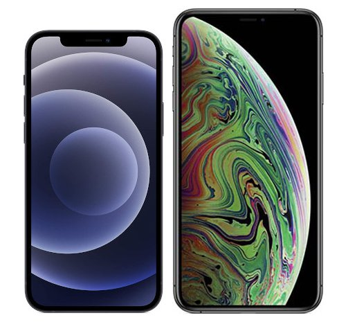 Smartphonevergleich: Iphone 12 oder Iphone xs max