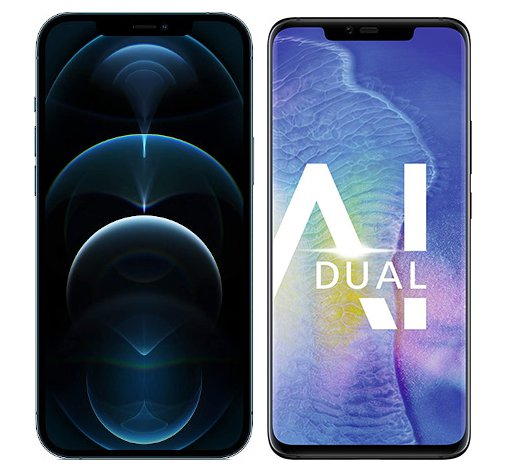 Smartphonevergleich: Iphone 12 pro max oder Huawei mate 20 pro