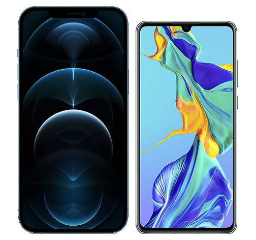 Smartphonevergleich: Iphone 12 pro max oder Huawei p30
