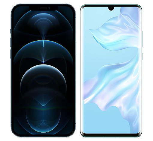 Smartphonevergleich: Iphone 12 pro max oder Huawei p30 pro