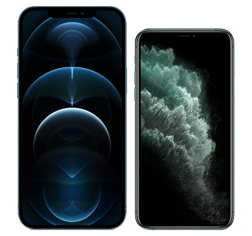 Smartphonevergleich: Iphone 12 pro max oder Iphone 11 pro