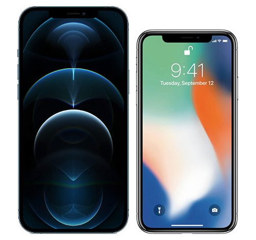 Smartphonevergleich: Iphone 12 pro max oder Iphone x