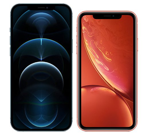 Smartphonevergleich: Iphone 12 pro max oder Iphone xr