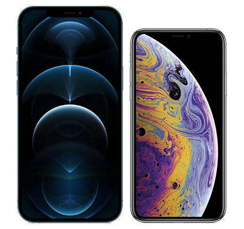 Smartphonevergleich: Iphone 12 pro max oder Iphone xs