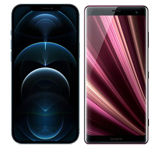 Smartphonevergleich: Iphone 12 pro max oder Sony xperia xz3