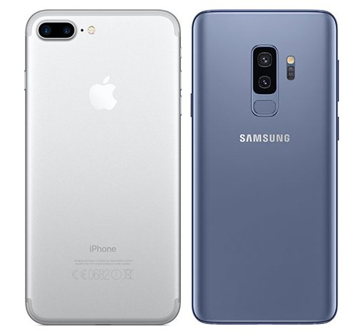 Samsung S9 O Iphone 7 Plus
