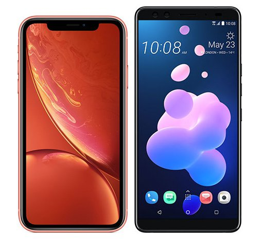 Smartphone Comparison: Iphone xr vs Htc u12 plus