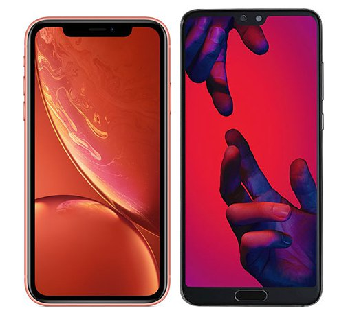 Smartphone Comparison: Iphone xr vs Huawei p20 pro