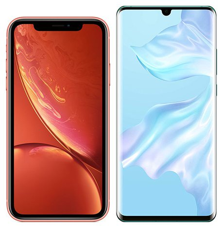 Smartphone Comparison: Iphone xr vs Huawei p30 pro