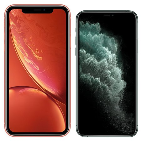 Smartphonevergleich: Iphone xr oder Iphone 11 pro