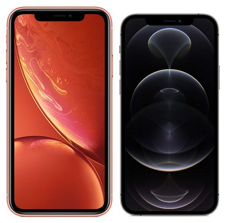 Smartphonevergleich: Iphone xr oder Iphone 12 pro