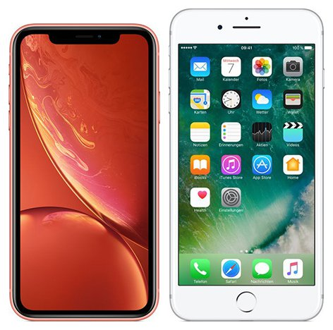 Smartphone Comparison: Iphone xr vs Iphone 7 plus