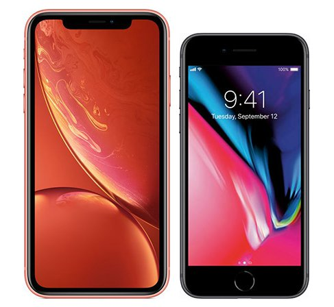 Smartphone Comparison: Iphone xr vs Iphone 8