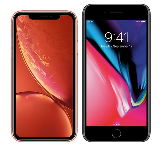 Smartphone Comparison: Iphone xr vs Iphone 8 plus