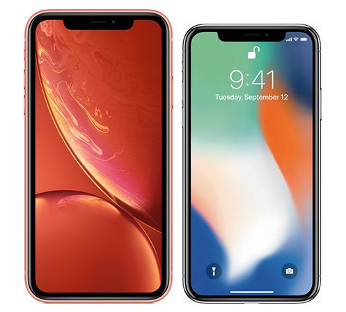 Smartphone Comparison: Iphone xr vs Iphone x