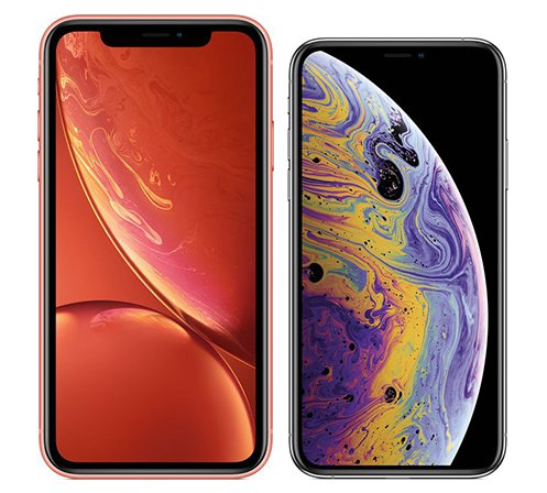 iphone xr size xs