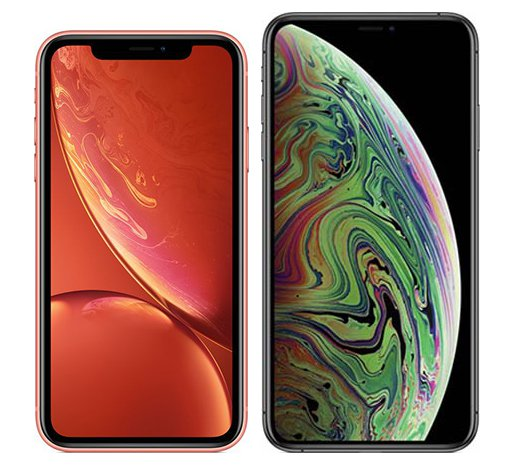 Smartphone Comparison: Iphone xr vs Iphone xs max
