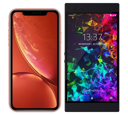 Smartphone Comparison: Iphone xr vs Razer phone 2
