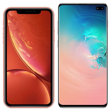 Smartphone Comparison: Iphone xr vs Samsung galaxy s10 plus