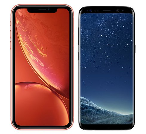 Smartphone Comparison: Iphone xr vs Samsung galaxy s8