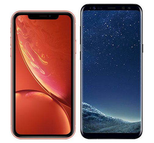 Smartphone Comparison: Iphone xr vs Samsung galaxy s8 plus