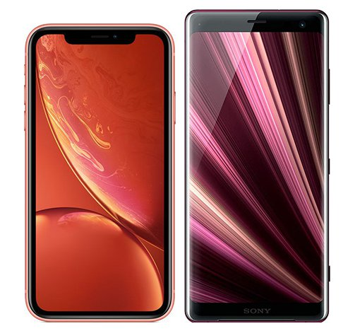 Smartphone Comparison: Iphone xr vs Sony xperia xz3