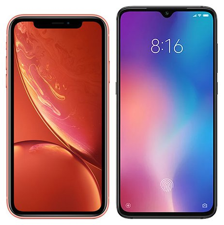Smartphone Comparison: Iphone xr vs Xiaomi mi 9