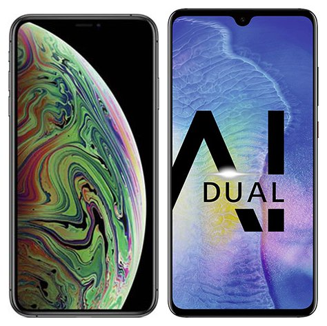 Smartphone Comparison: Iphone xs max vs Huawei mate 20