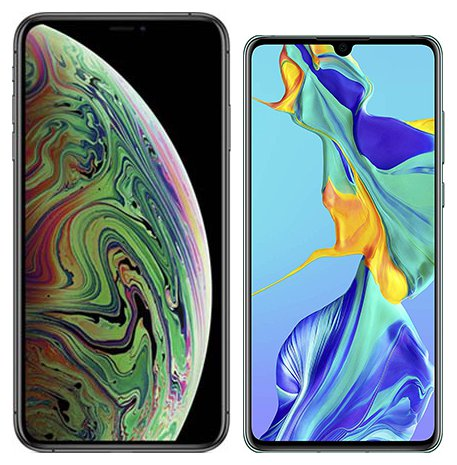 Smartphonevergleich: Iphone xs max oder Huawei p30