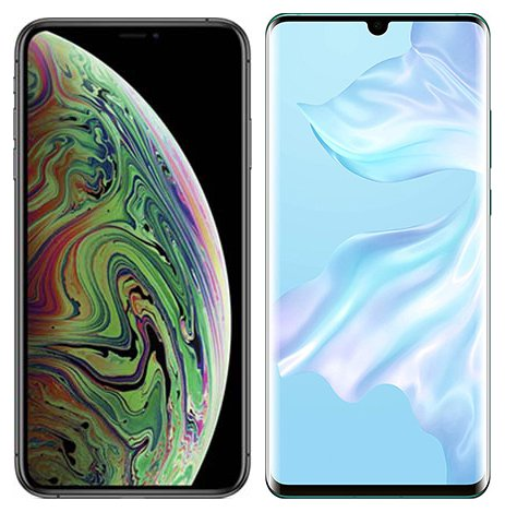Smartphonevergleich: Iphone xs max oder Huawei p30 pro