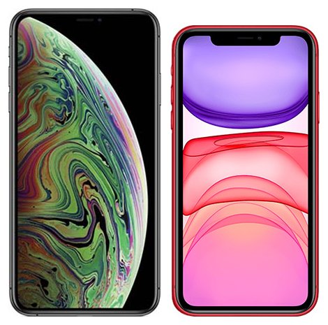 Smartphonevergleich: Iphone xs max oder Iphone 11
