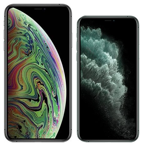 Smartphonevergleich: Iphone xs max oder Iphone 11 pro