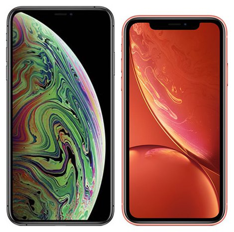 Smartphone Comparison: Iphone xs max vs Iphone xr