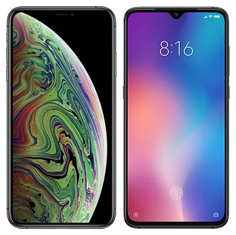Smartphone Comparison: Iphone xs max vs Xiaomi mi 9