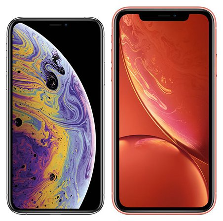 smartphones im vergleich apple iphone xs oder apple. Black Bedroom Furniture Sets. Home Design Ideas