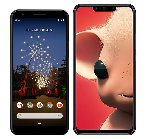 Smartphone Comparison: Google pixel 3a vs Huawei p smart plus