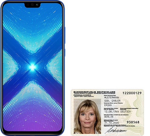 Honor 8X size comparison